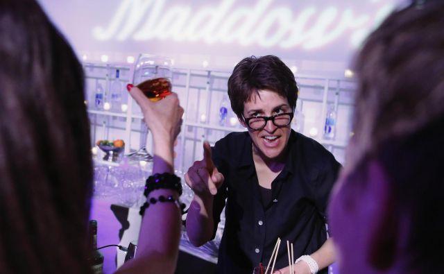 Rachel Maddow je voditeljica ene najbolj uspešnih političnih oddaj v ZDA. Foto Reuters