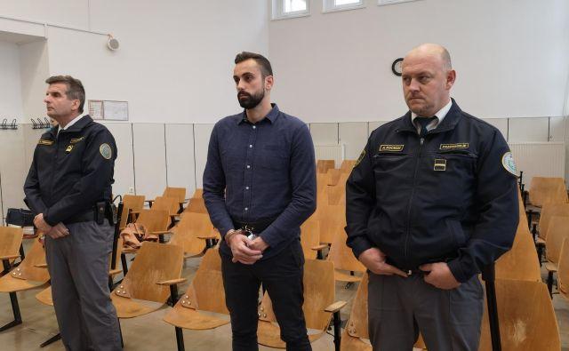 Anže Jelen ostaja v priporu do pravnomočnosti sodbe. FOTO: Mojca Marot