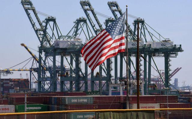 Svetovna trgovina se bo še krčila, najbolj se nižajo gospodarska pričakovanja za ZDA, ugotavlja inštitut Ifo. FOTO: Mark Ralston/AFP