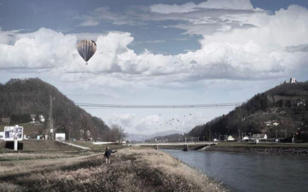 Skriti evri za več kot pol kilometra dolg viseči most