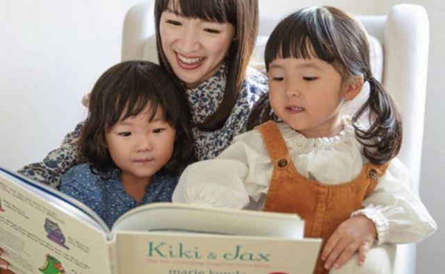 Marie Kondo se bo počasi poslovila od zelo napornega in zahtevnega leta s knjigo za otroke. FOTO: Instagram, mariekondo