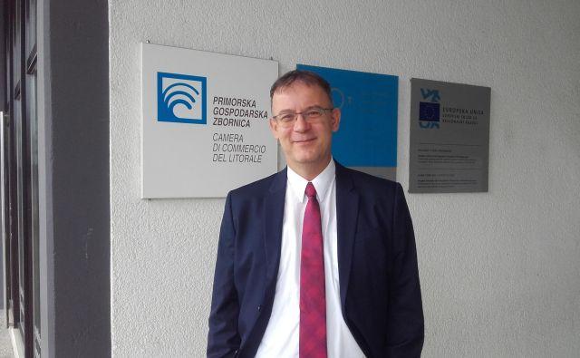 Robert Rakar, direktor Primorske gospodarske zbornice Foto: Nataša Čepar