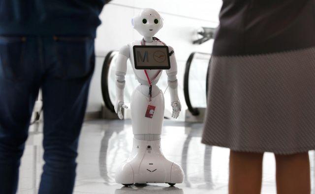 »Če bomo preveč avtomatizirali, bomo morda res povečali produktivnost, kaj pa bo ostalo za človeka?« Foto Reuters