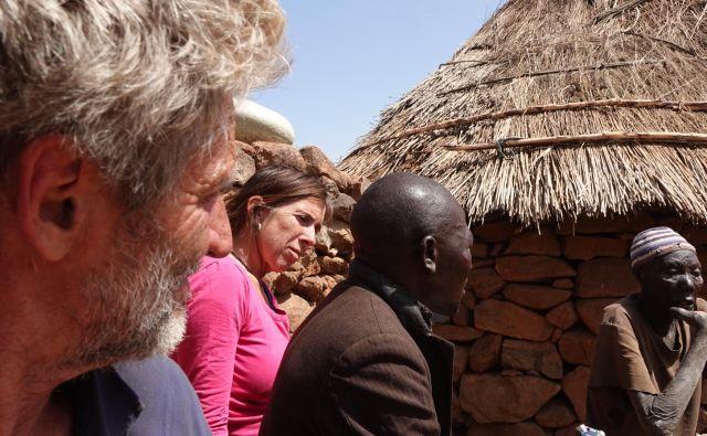 Tomo Križnar in Bojana Pivk se redno vračata v Nubske gore. FOTO: Tomo Križnar