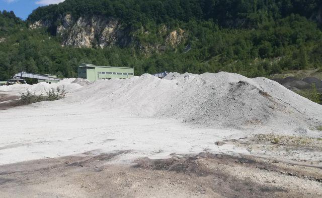 Pepel iz TE TOL v Trbovljah. FOTO: Osebni arhiv Jp