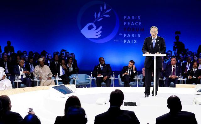 Forum za mir je primer drugačnega diplomatskega modela od teh, kakršnih smo vajeni. Foto: Reuters