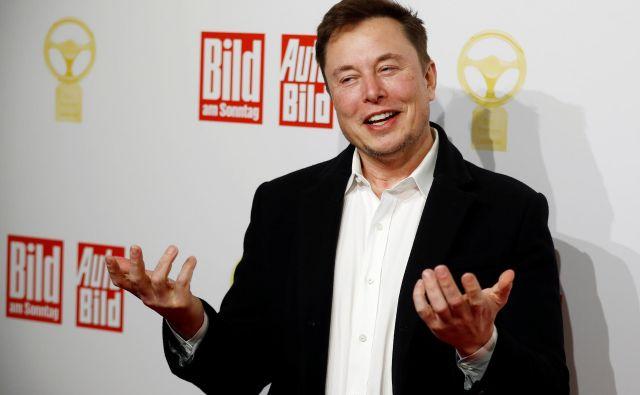 Elon Musk bo gradil tovarno v Nemčiji.<br /> Foto: Reuters
