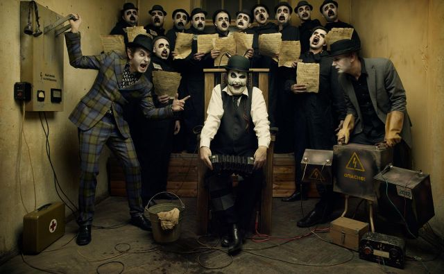 Člani zasedbe The Tiger Lillies so bizarno optimistični.<br /> Foto Adrey Kezzyn
