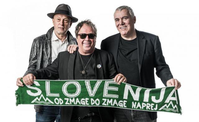 Vlado Kreslin, Pero Lovšin in Zoran Predin FOTO: Simone Di Luca