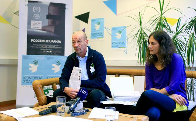 Božidar Radišić in Tanja Cvetrežnik sta bila tudi sama v postopkih. FOTO: Tomi Lombar/Delo