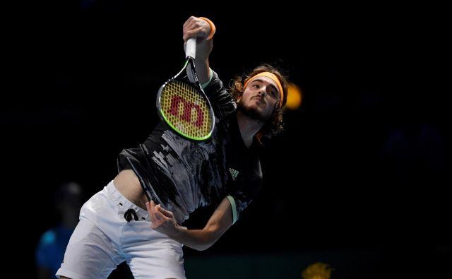 Za Stefanosa Tsitsipasa so najboljši igralci sveta dodatna motivacija, da prikaže svoj najboljši tenis. FOTO: Reuters