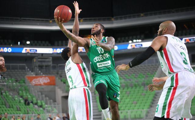 Codi Miller-McIntyre ostaja najbolj stanovitni stožiški košarkar.<br /> Foto Cedevita Olimpija