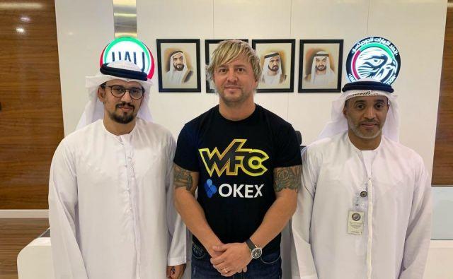 Zlatko Mahić se je v Bahrajnu združil z organizacijo Brave FC, ki je v lasti šejka Khalida bin Hamada Al Khalife. FOTO: WFC