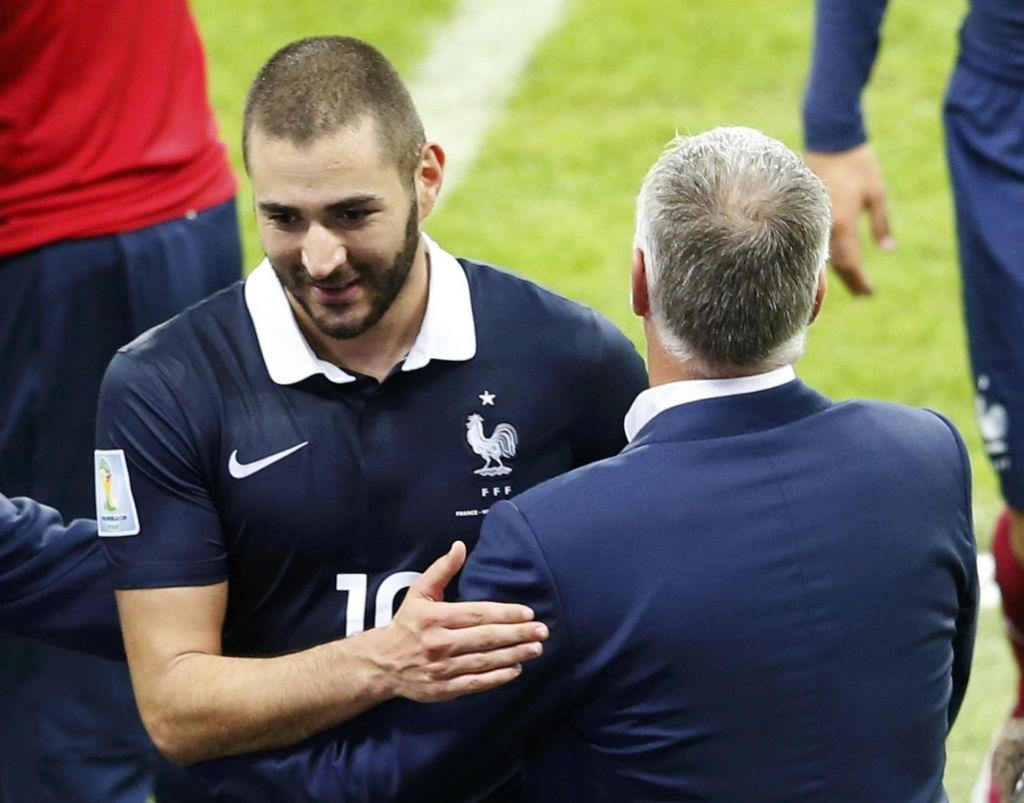 Zidane izzval Deschampsa, ki je bil neomajen