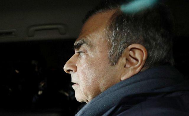 Carlos Ghosn je bil do lanske jeseni prvi zvezda med direktorji avtomobilske industrije, po njem se mora zveza Renaut-Nissan postaviti na novo. Foto Reuters