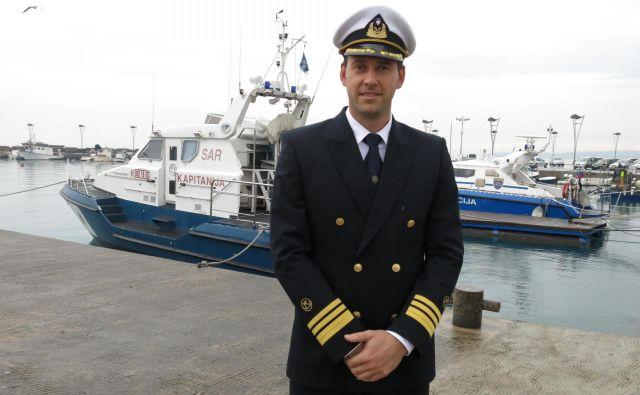 Jadran Klinec, direktor Uprave RS za pomorstvo, računa, da se bodo v nove prostore preselili najpozneje v začetku prihodnjega leta. FOTO: Boris Šuligoj/Delo