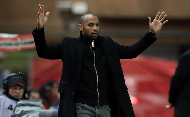 Po neprijetni prvi izkušnji v trenerski vlogi pri Monacu je Thierry Henry dobil priložnost za popravni izpit pri Montrealu. FOTO: AFP