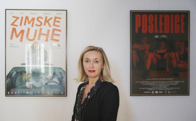 »Avdiovizualna industrija je že vrsto let eno od najhitreje razvijajočih se področij, a Slovenija te industrije še ni prepoznala,« pravi Nataša Bučar. Foto Jože Suhadolnik