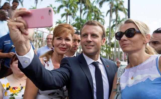 »Ko pišem o digitalnem populizmu od Trumpa do Macrona, hočem povedati, da populizem ni ideologija, ampak politični slog,«Francis Brochet, francoski novinar pri skupini regionalnih časnikov EBRA. Foto: Ronan Lietar/Reuters
