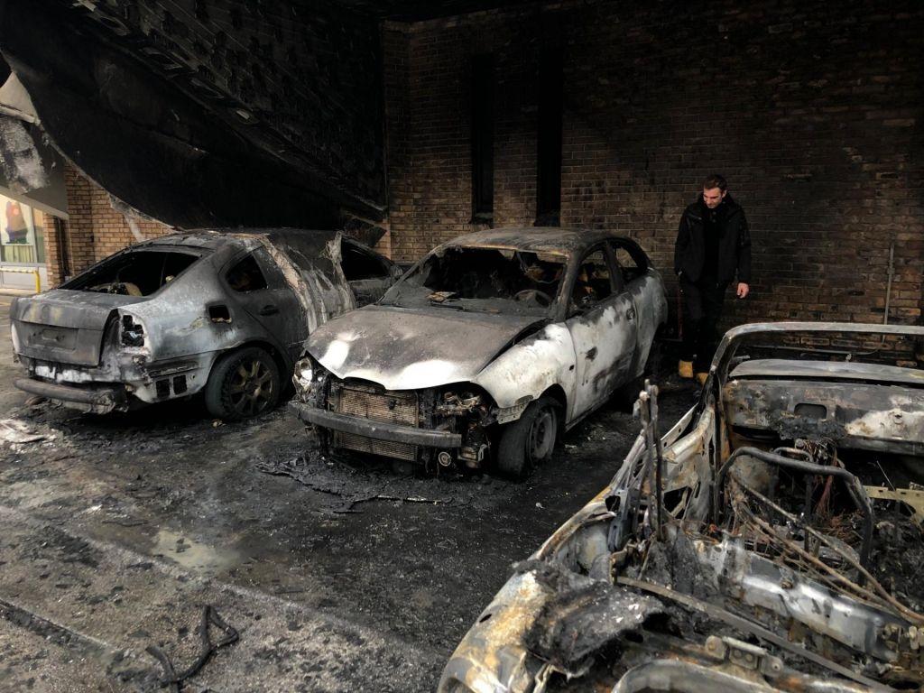 FOTO:Trboveljčanka sumi, da je bila tarča podtaknjenega požara ona