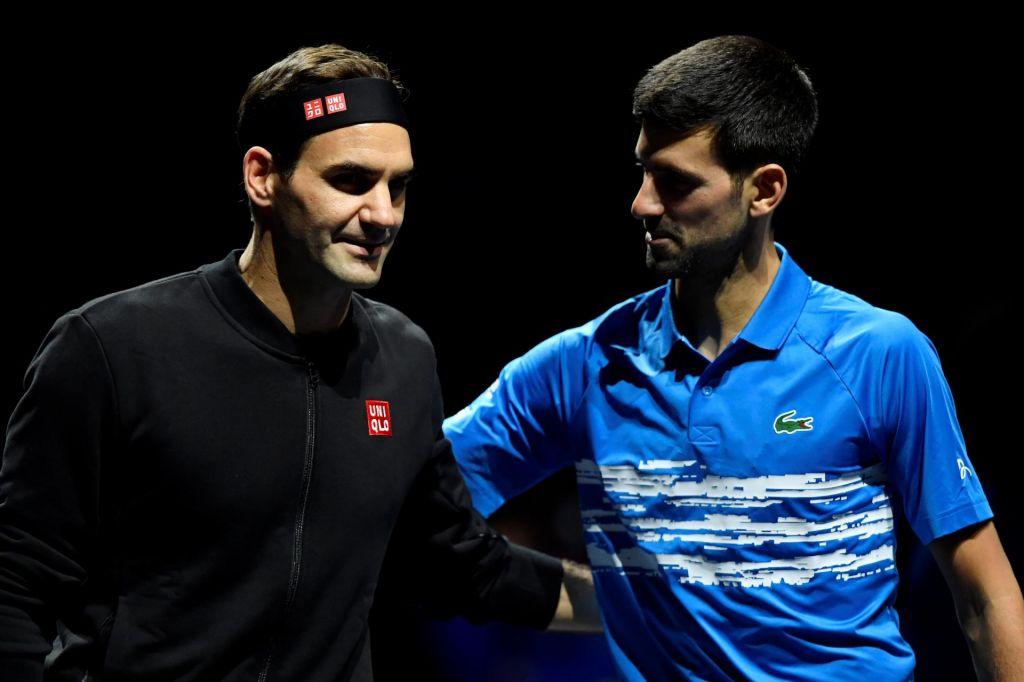 Federer naprej, Đoković domov, Nadal v novo leto kot št. 1