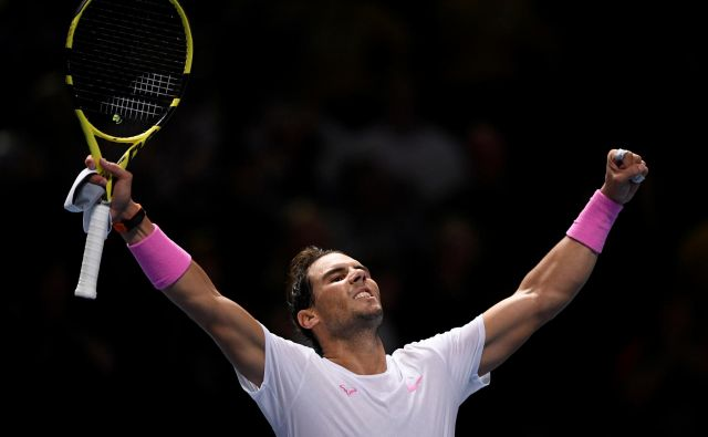 Rafael Nadal je prvič sezono na 1. mestu ATP končal leta 2008, letos jo bo še petič. FOTO: Reuters