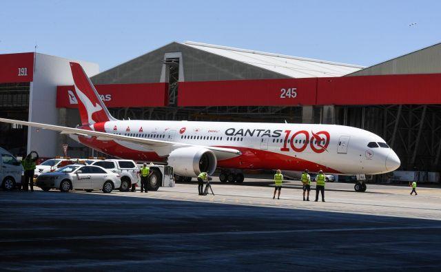 Avstralska letalska družba Qantas bo prihodnje leto praznovala sto let obstoja. FOTO: Reuters