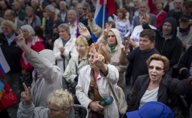 Janša bo poskušal dokazati, da je bil proces Patria organiziran in montiran od začetka do konca. FOTO: Voranc Vogel/Delo