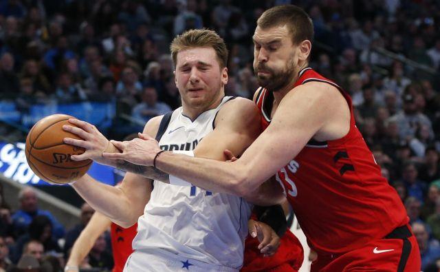 Luka Dončić se je z Dallasom vrnil na zmagovita pota. FOTO: USA Today Sports