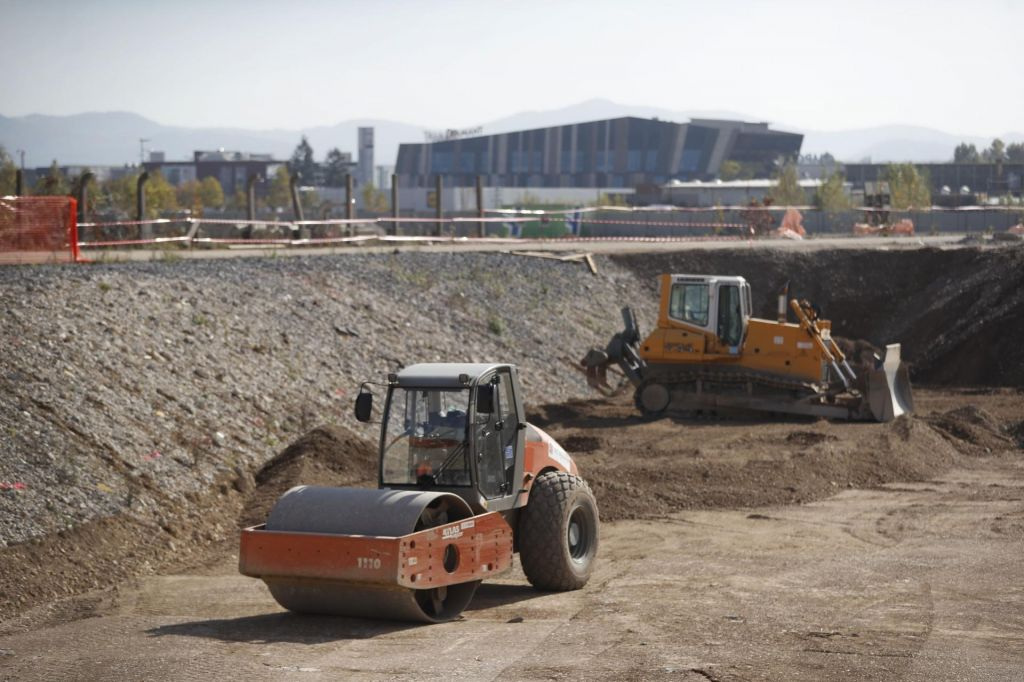 Slovensko gradbeništvo se krči
