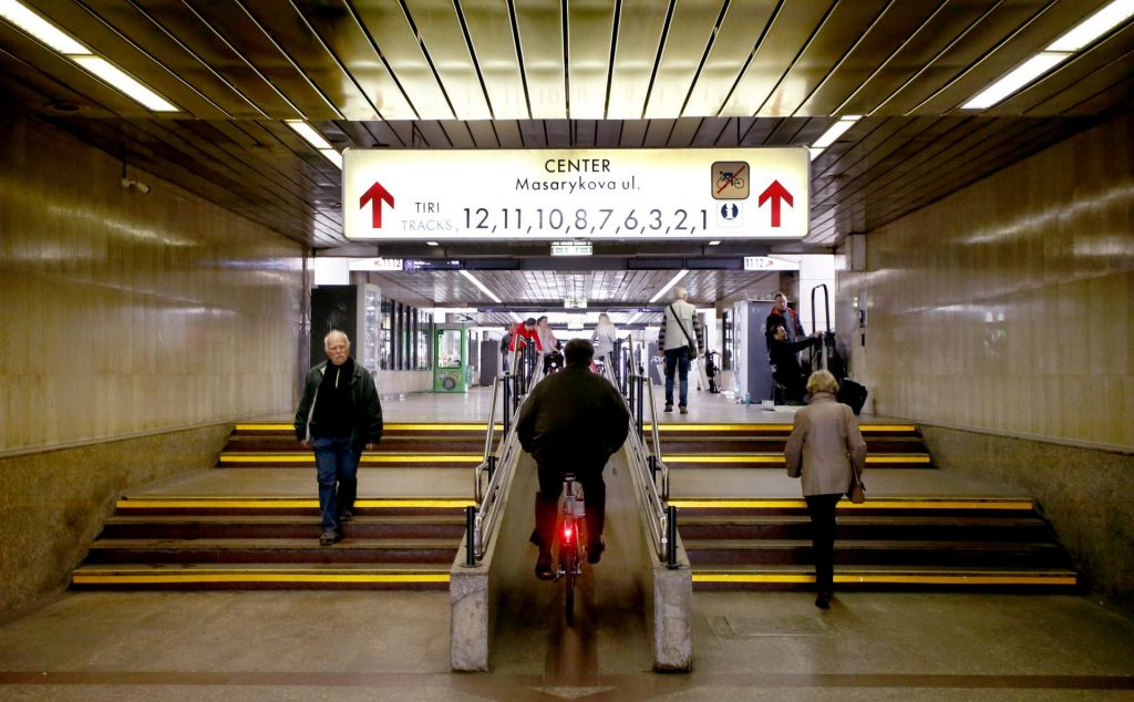 Podhod pod železniško postajo mestu ni v ponos