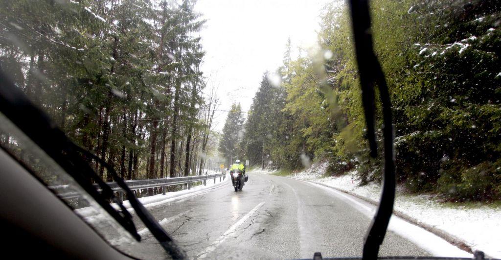 Dež in sneg zajela vzhodno Tirolsko in dele avstrijske Koroške