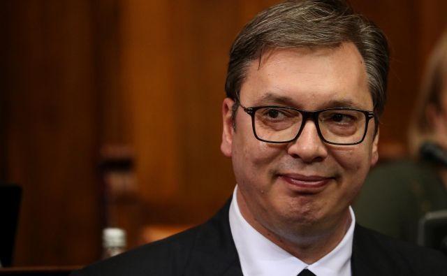 Več podrobnosti o Vučićevem stanju ni znanih. FOTO: Marko Djurica/Reuters