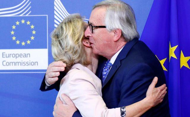 Če ne bo presenečenj, bo zadnji dan mandata Jean-Clauda Junckerja 30. novembra. FOTO: Francois Lenoir/Reuters