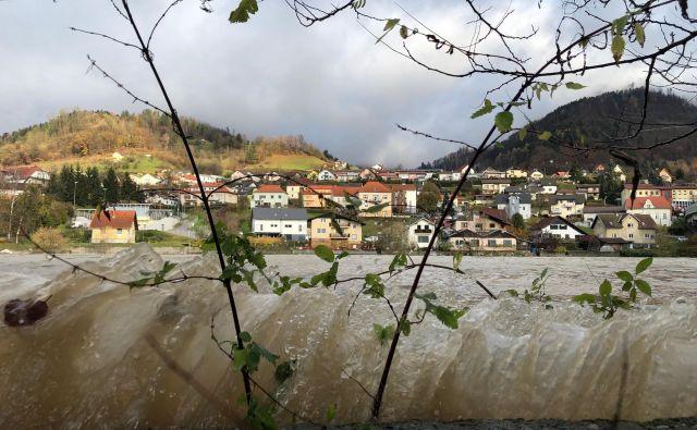 Dravograd ob 9. uri. FOTO: Jure Eržen/Delo