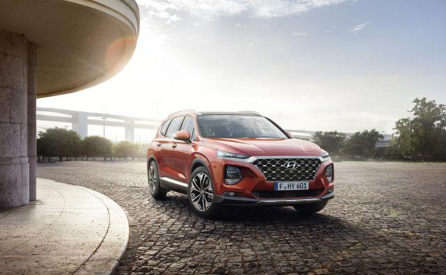 Santa Fe je največji SUV iz ponudbe. FOTO: Hyundai