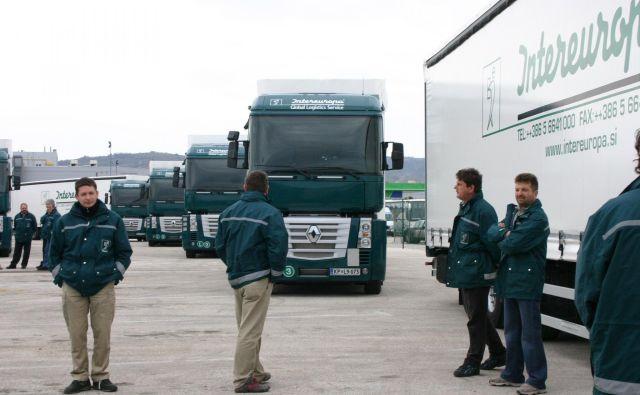 FOTO: Dušan Grča Z nakupom večinskega deleža Intereurope Pošta vstopa v nove segmente logističnih storitev na trgih, kjer doslej ni bila prisotna, s tem pa to državno podjetje prerašča v mednarodno podjetje.