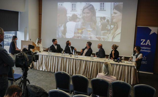 SBC - Klub slovenskih podjetnikov želi s programom ZA podjetno Slovenijo slišati vse družbene skupine, zato da bo podjetnost sčasoma postala vrednota v javnosti. FOTO: Uroš Hočevar/Delo