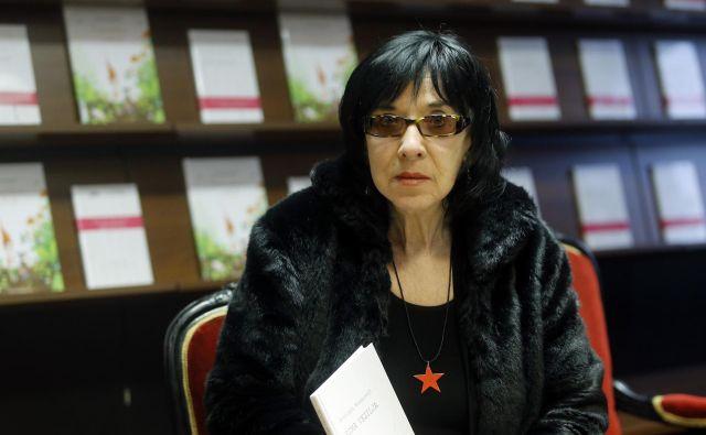 »Od direktorja založbe Beletrina bom zahtevalajavno opravičilo,« pravi Svetlana Makarovič. FOTO: Blaž Samec/Delo
