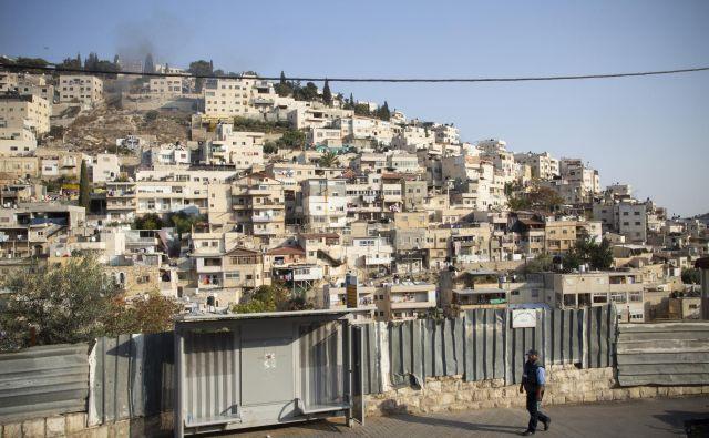Vzhodni Jeruzalem, predel Slivan. FOTO: Boštjan Videmšek