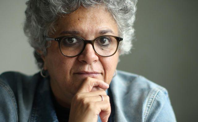 Izabella Teixeira, sopredsedujoča mednarodnemu odboru ZN za vire in strokovnjakinja za okoljski menagement. FOTO: Jure Eržen