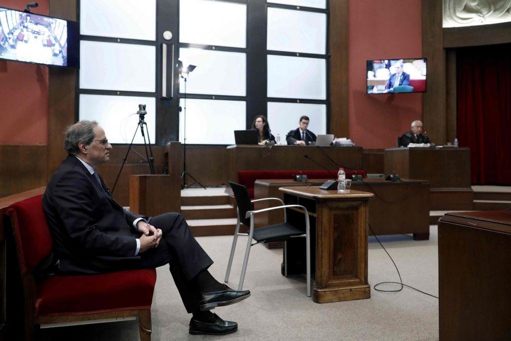 V Španiji začetek sojenja katalonskemu predsedniku