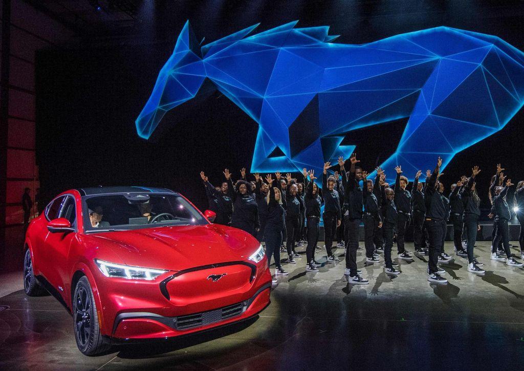 FOTO:Fordov električni mustang