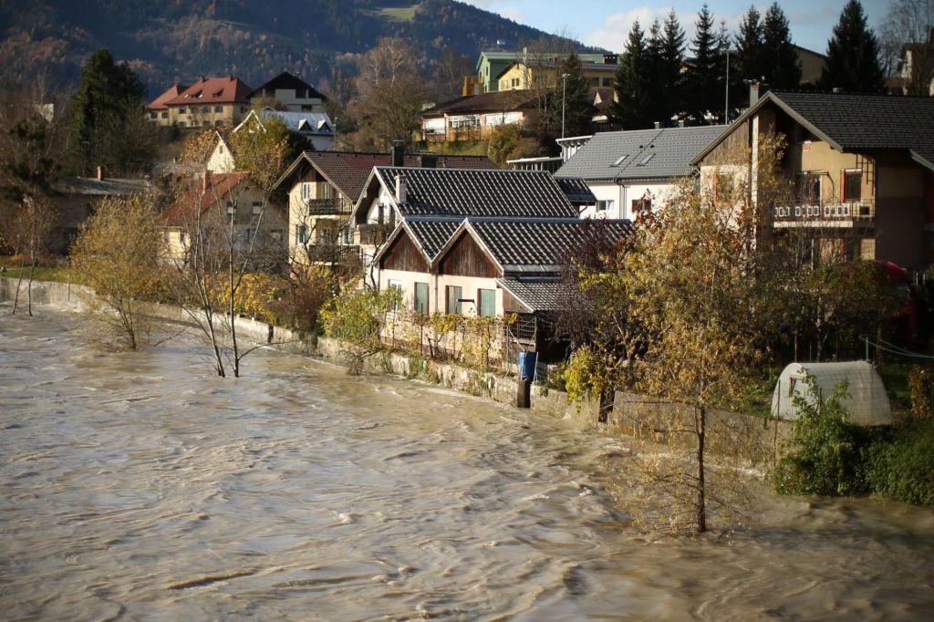 FOTO:Novembra ob Dravi res ni lepo živeti