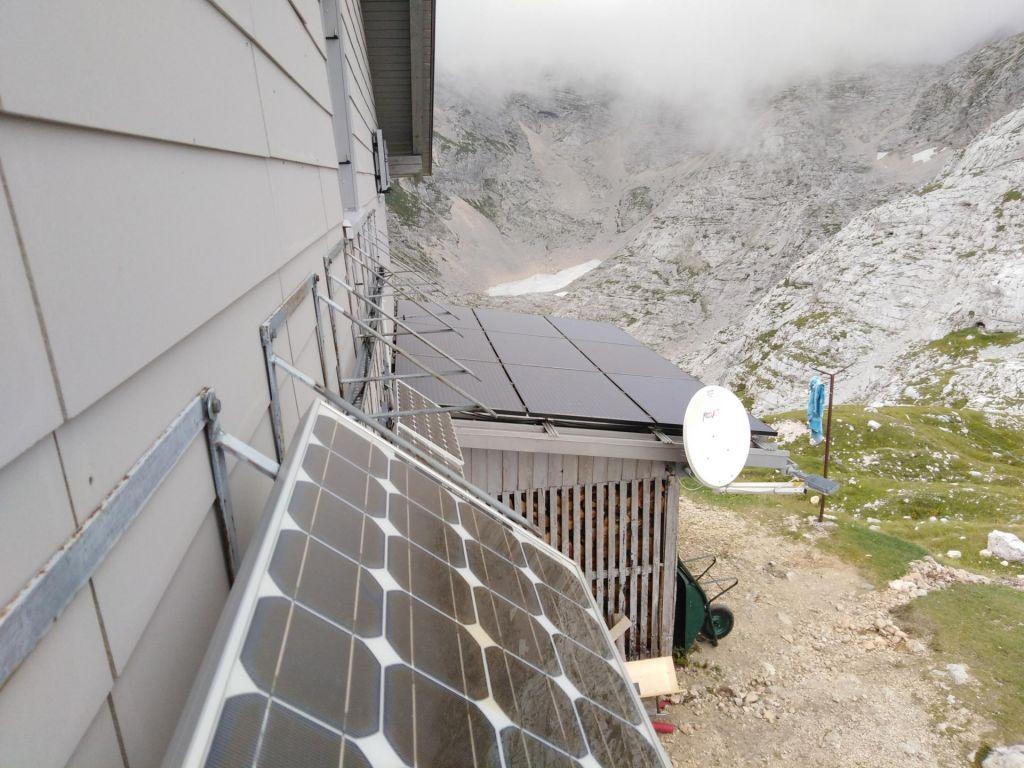 FOTO:Z zeleno tehnologijo do manjšega ogljičnega odtisa v občutljivem gorskem svetu