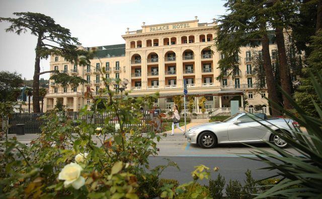 Hotel Palace Kempinski Portorož. FOTO: Jure Eržen/Delo