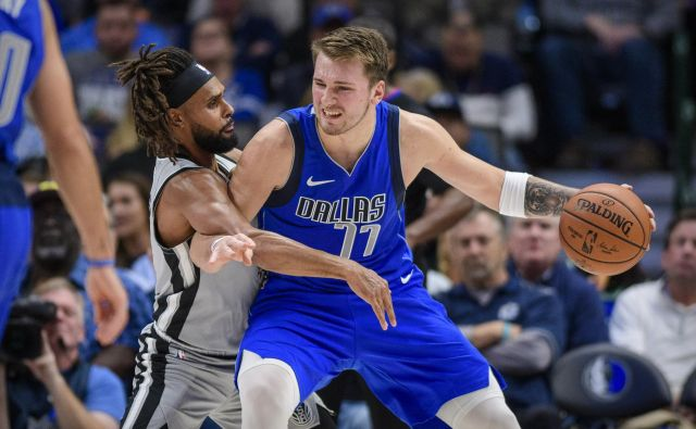 Luka Dončić je znova čaral na parketu. FOTO: USA Today Sports