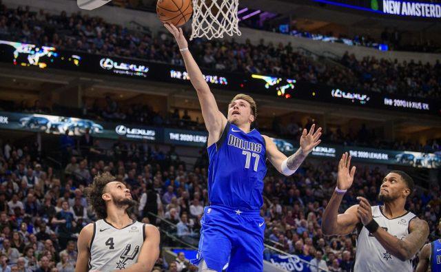 Za Luko Dončića niso našli obrambe niti petkratni prvaki lige NBA. FOTO: USA Today Sports