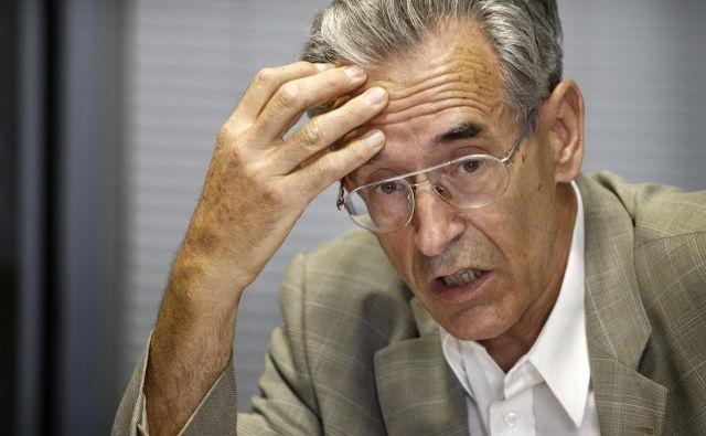 Matevž Krivic: »Prof. dr. Jurij Toplak je tokrat žal preveč hitel.« FOTO: Aleš Černivec