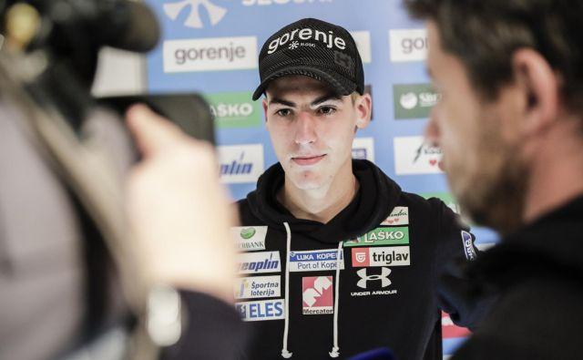 Timi Zajc bi bil lahko tudi v novi sezoni prvo ime slovenskih smučarskih skokov. FOTO: Uroš Hočevar/Delo